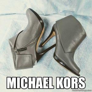 MICHAEL KORS sexy gray booties size 7M